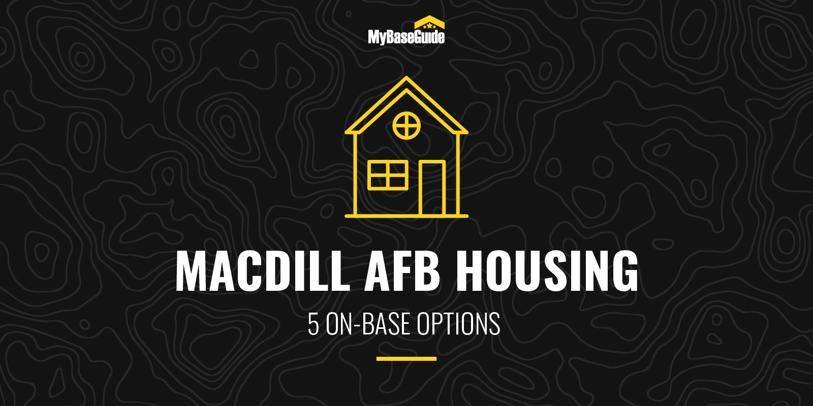 MacDill AFB Housing:5 on-base options