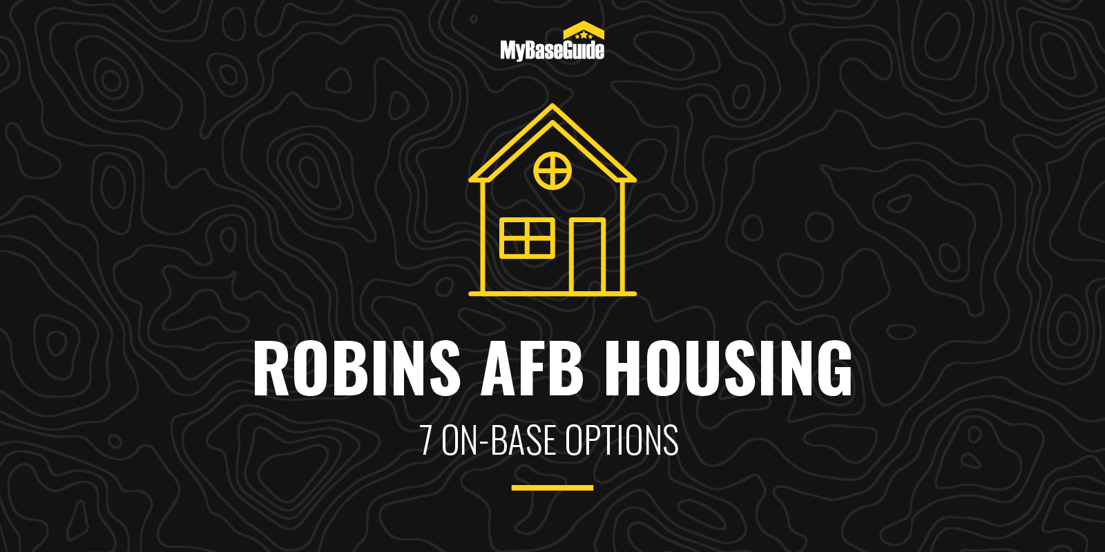Robins AFB Housing: 7 on-base options