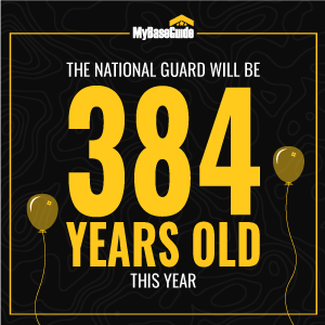 The National Guard will be 384 years old this year.
