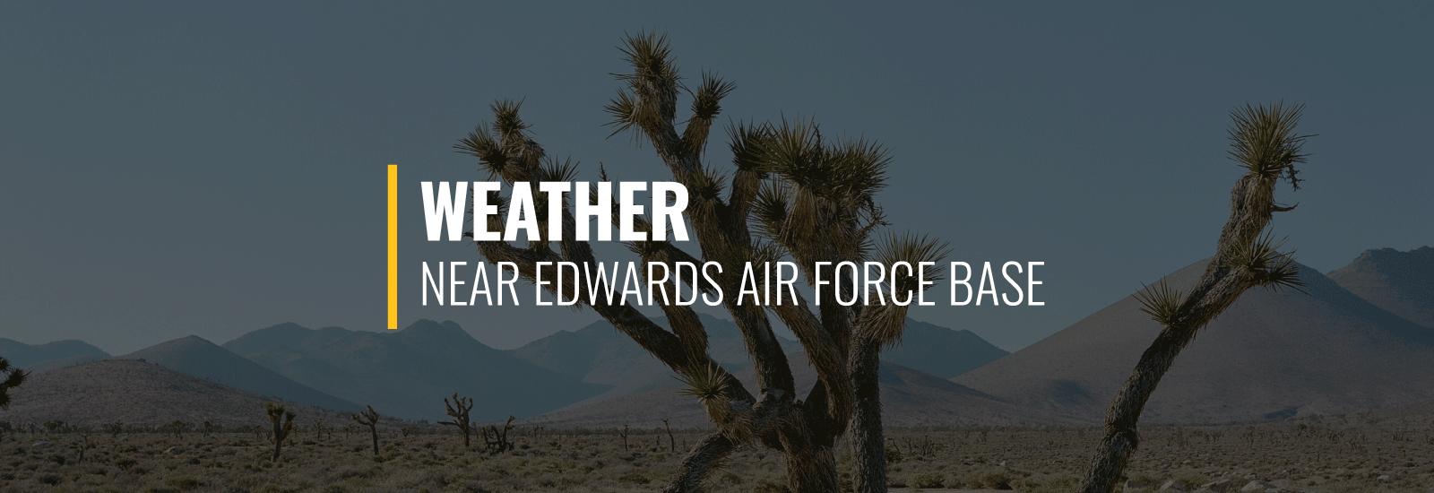 Edwards AFB Weather