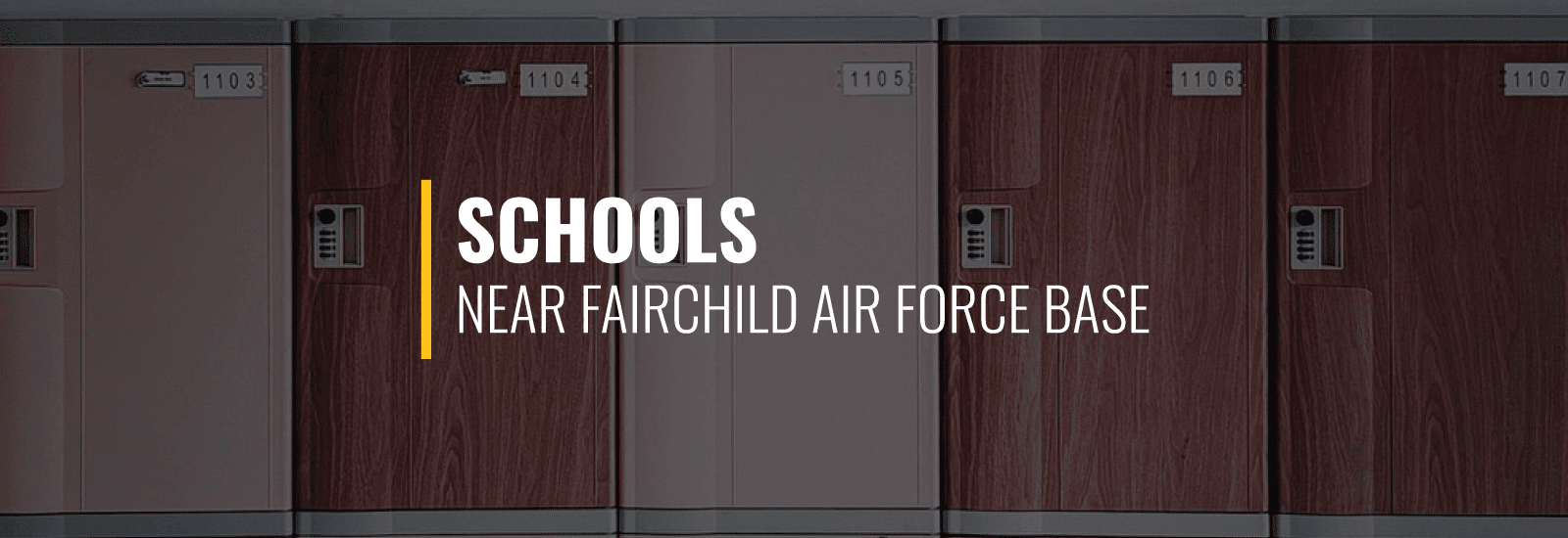 Fairchild AFB Schools