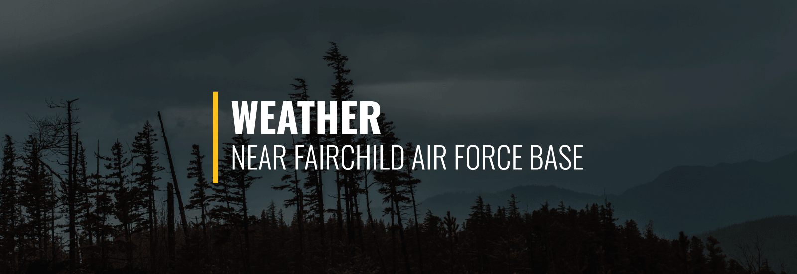 Fairchild AFB Weather