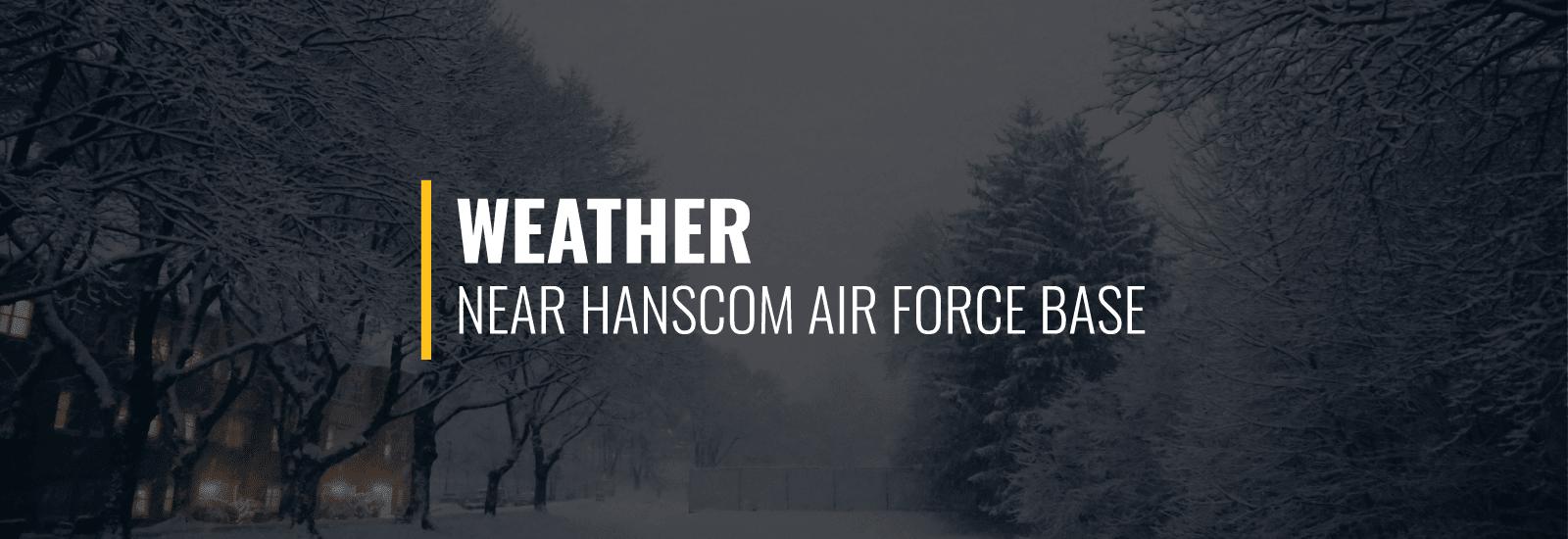 Weather Hanscom AFB
