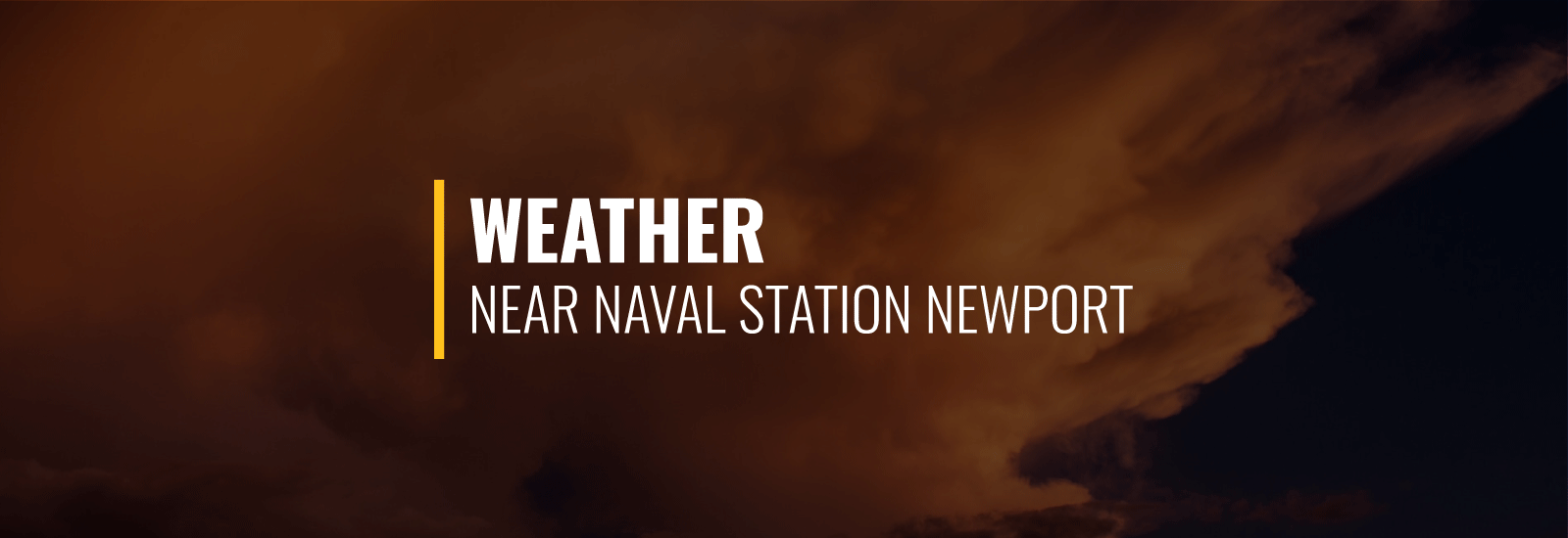 Naval Station Newport Weather
