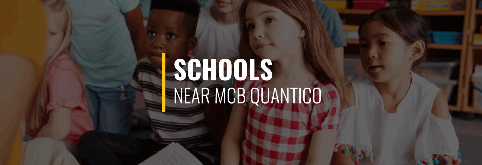 Schools Near MCB Quantico