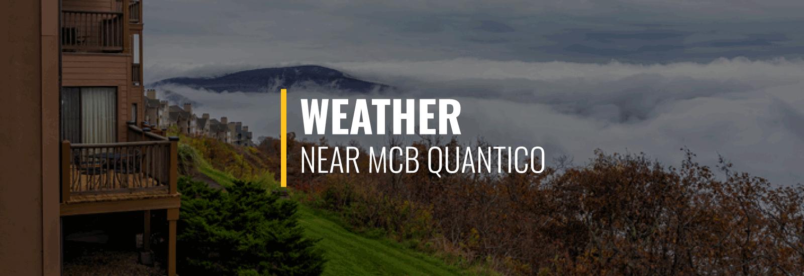 Weather MCB Quantico