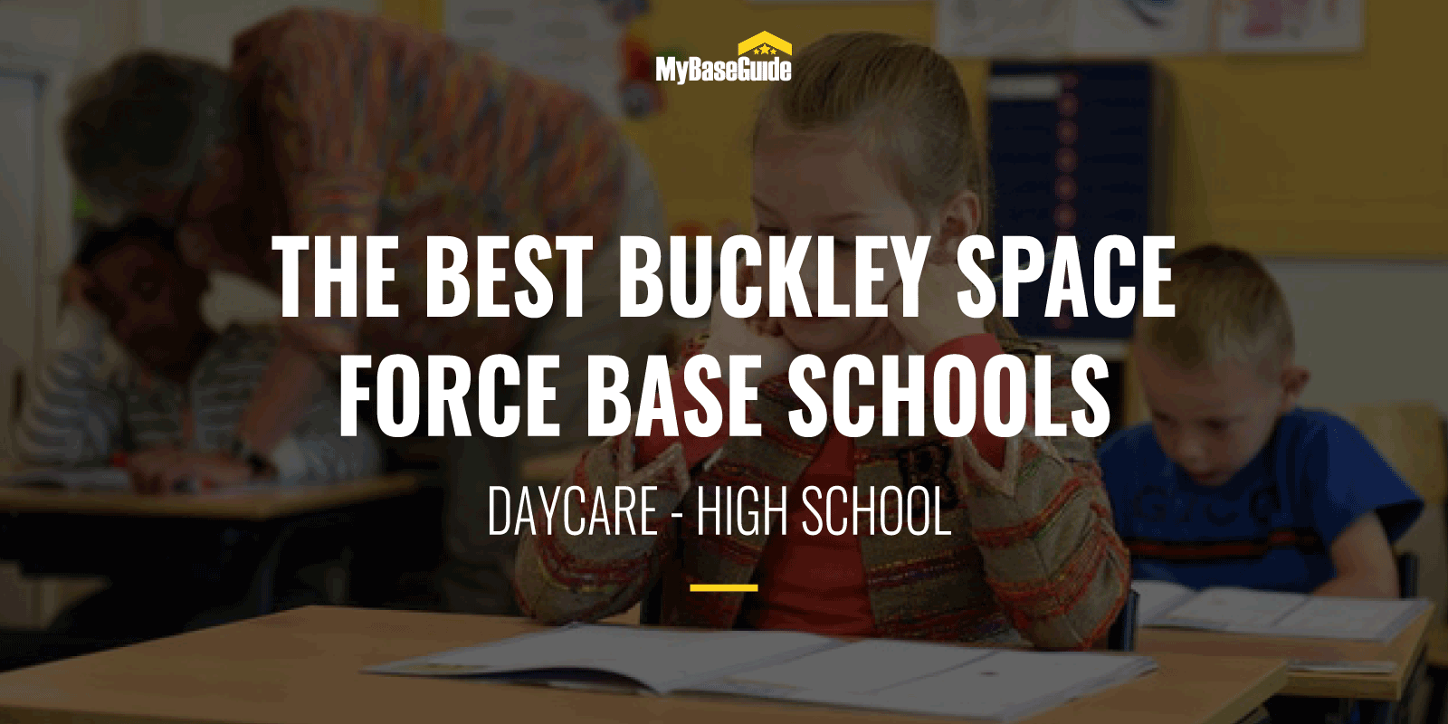 The Best Buckley AFB (Now Buckley Space Force Base) Schools