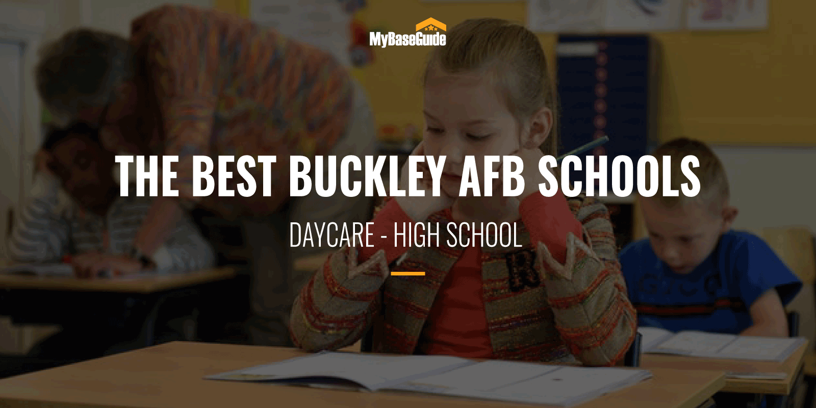 The Best Buckley AFB Schools: Daycare - High School