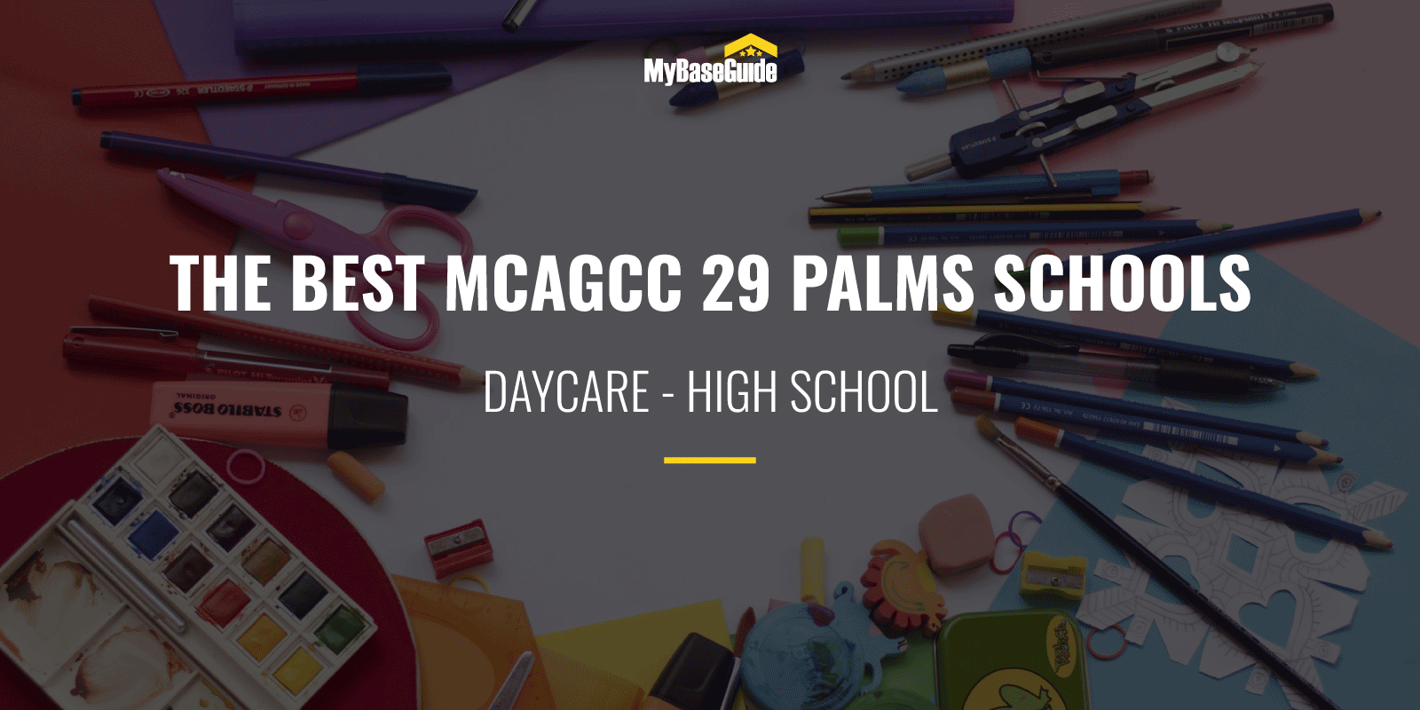 The Best MCAGCC 29 Palms Schools: Daycare - High School