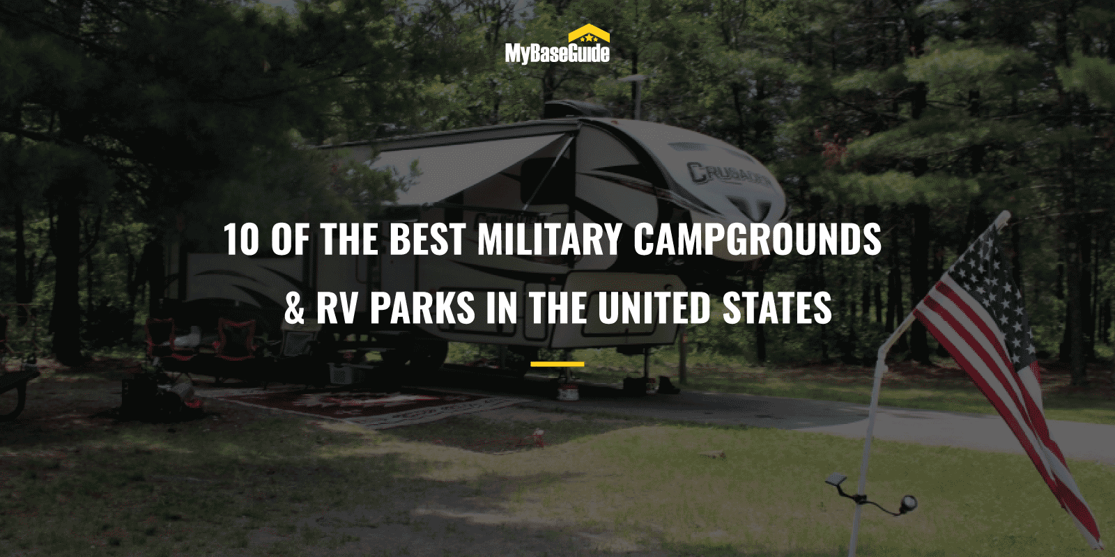 10 of the Best Military Campgrounds & RV Parks in the United States