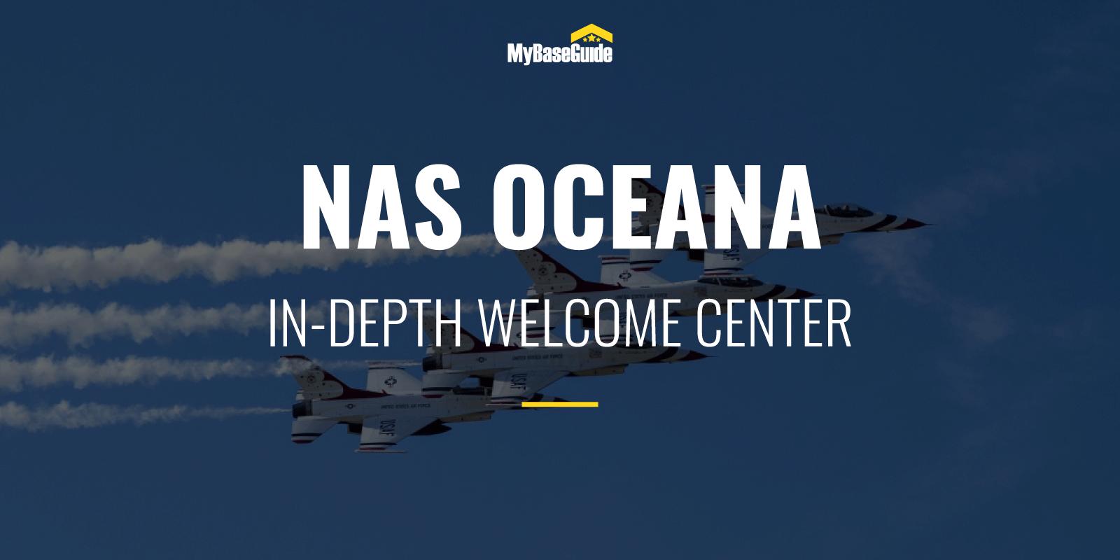 NAS Oceana: In-Depth Welcome Center