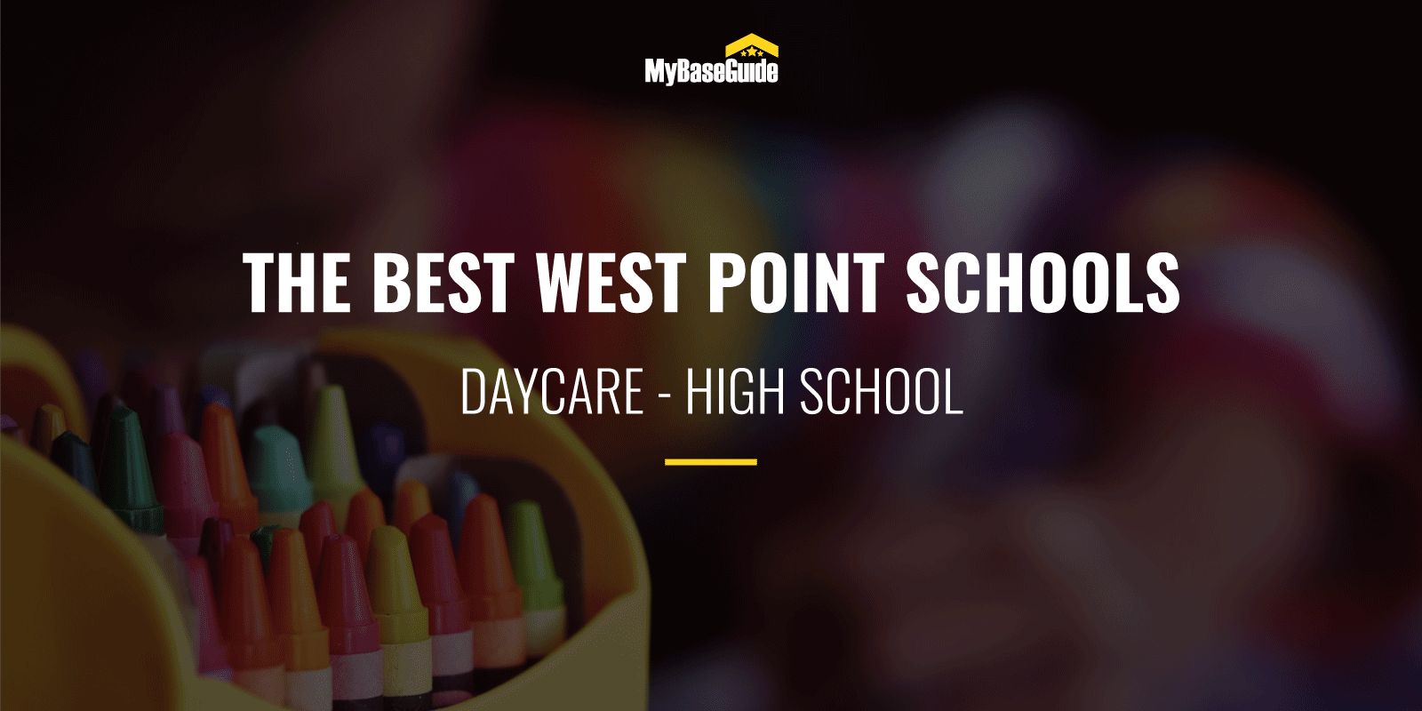 The Best West Point Schools: Daycare - High School