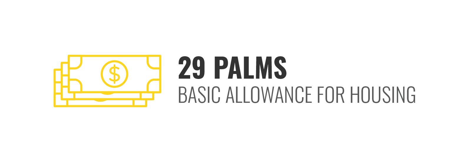 29 Palms BAH