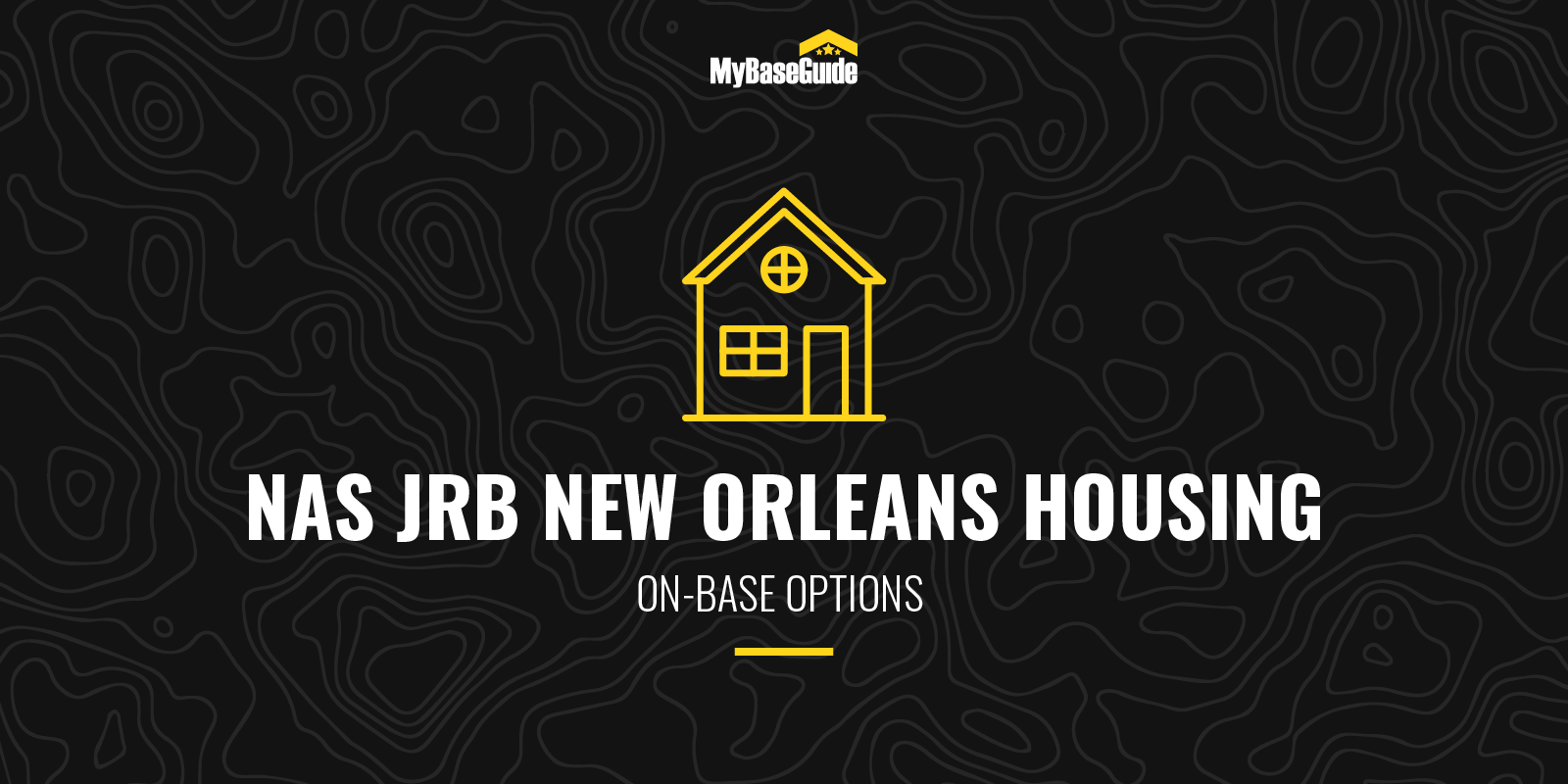 NAS JRB New Orleans Housing: On Base Options