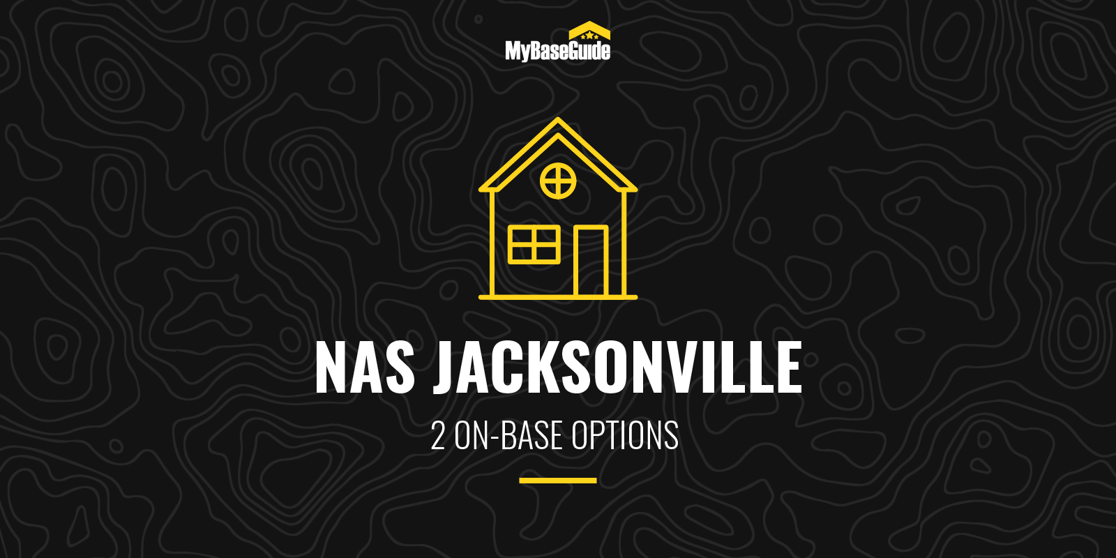 NAS Jacksonville Housing: 2 On-Base Options