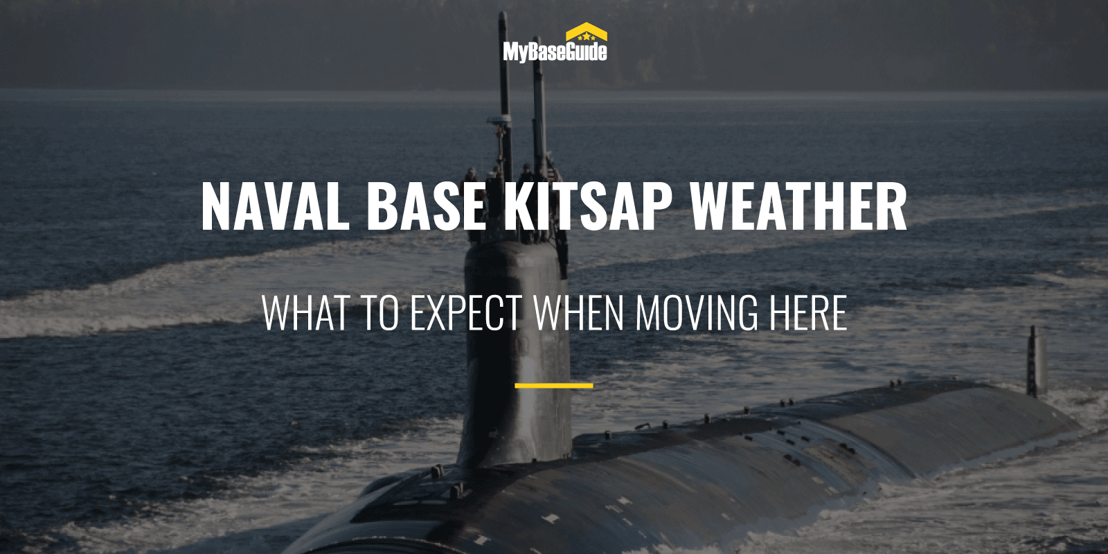 Naval Base Kitsap Weather: What To Expect When Moving Here