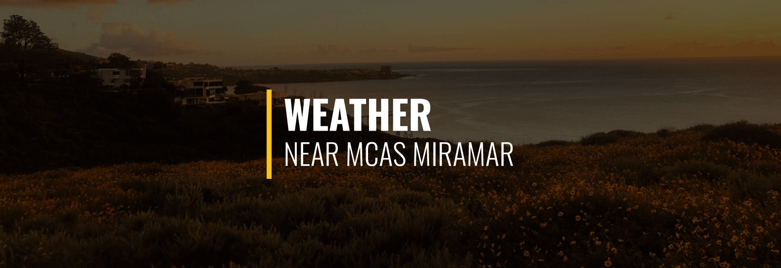 MCAS Miramar Weather