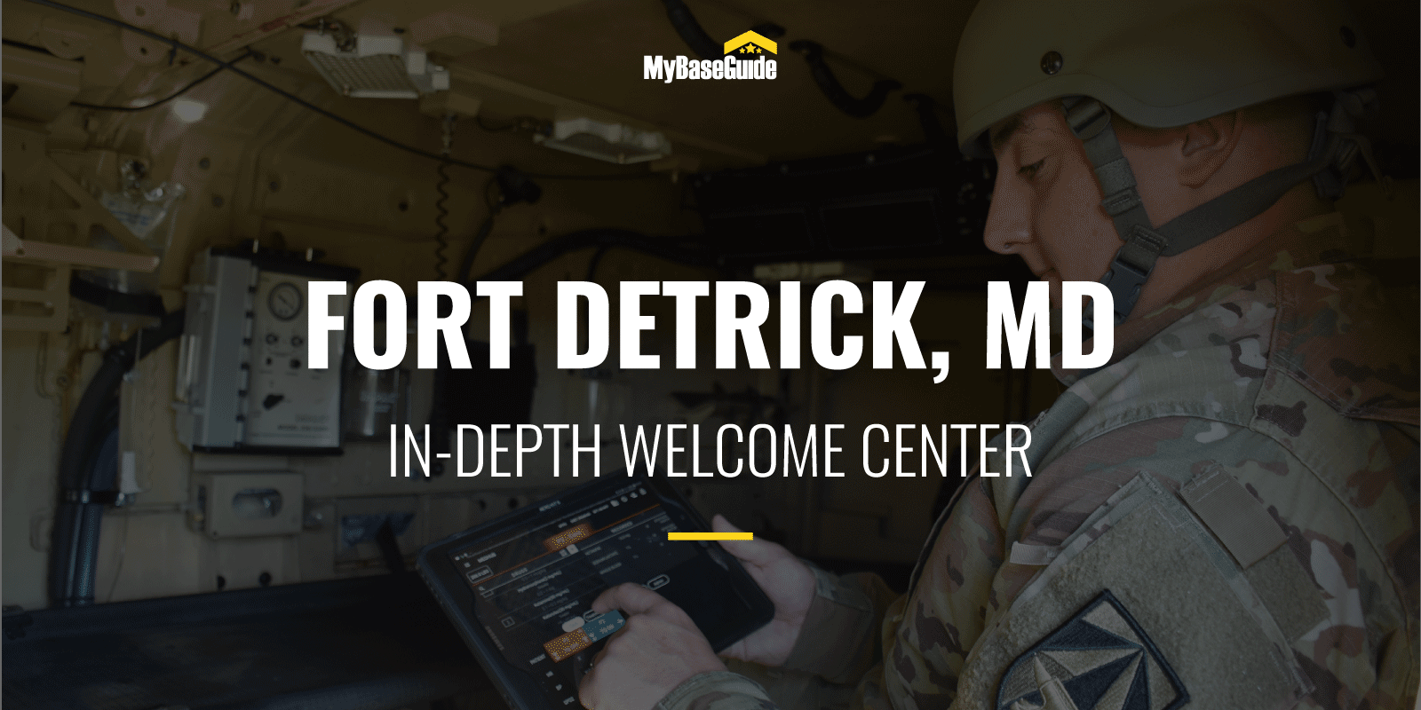 Fort Detrick, MD: In-Depth Welcome Center