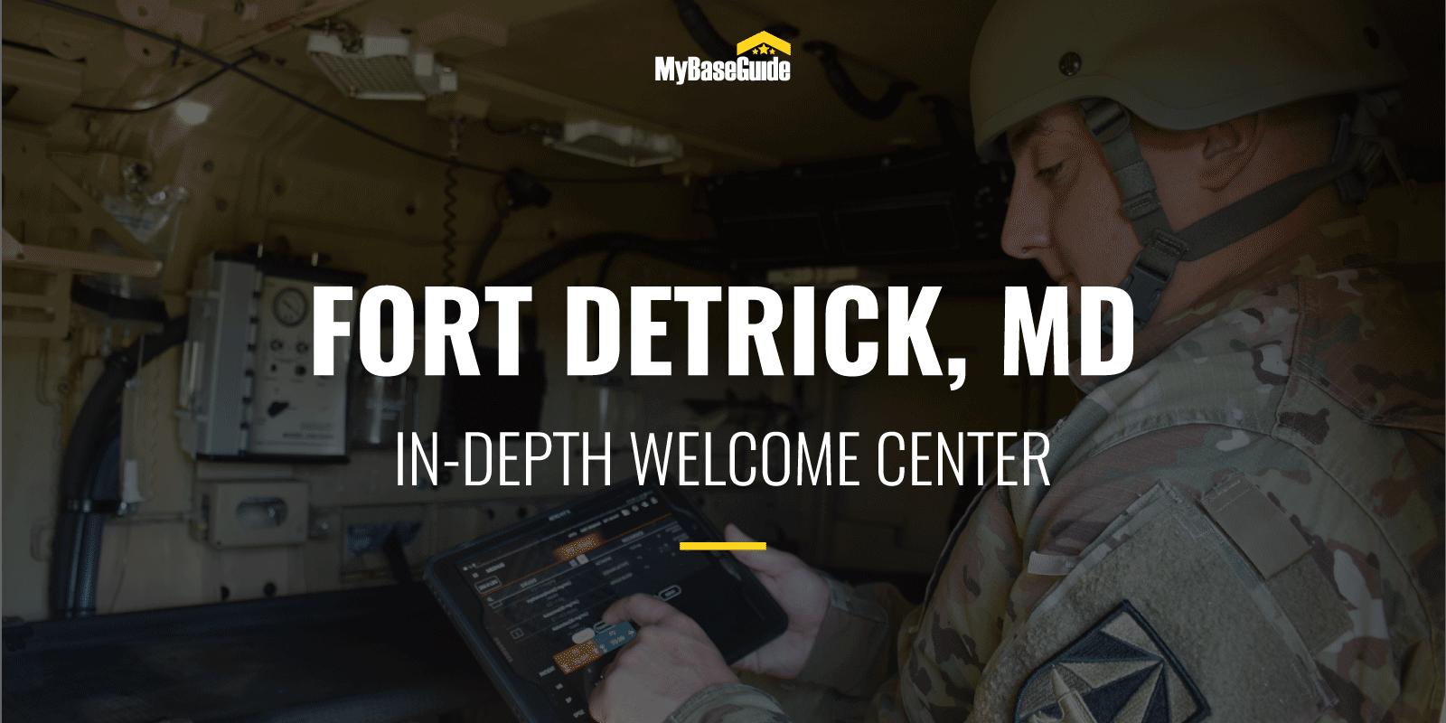 Fort Detrick, MD: In-Depth Welcome Center