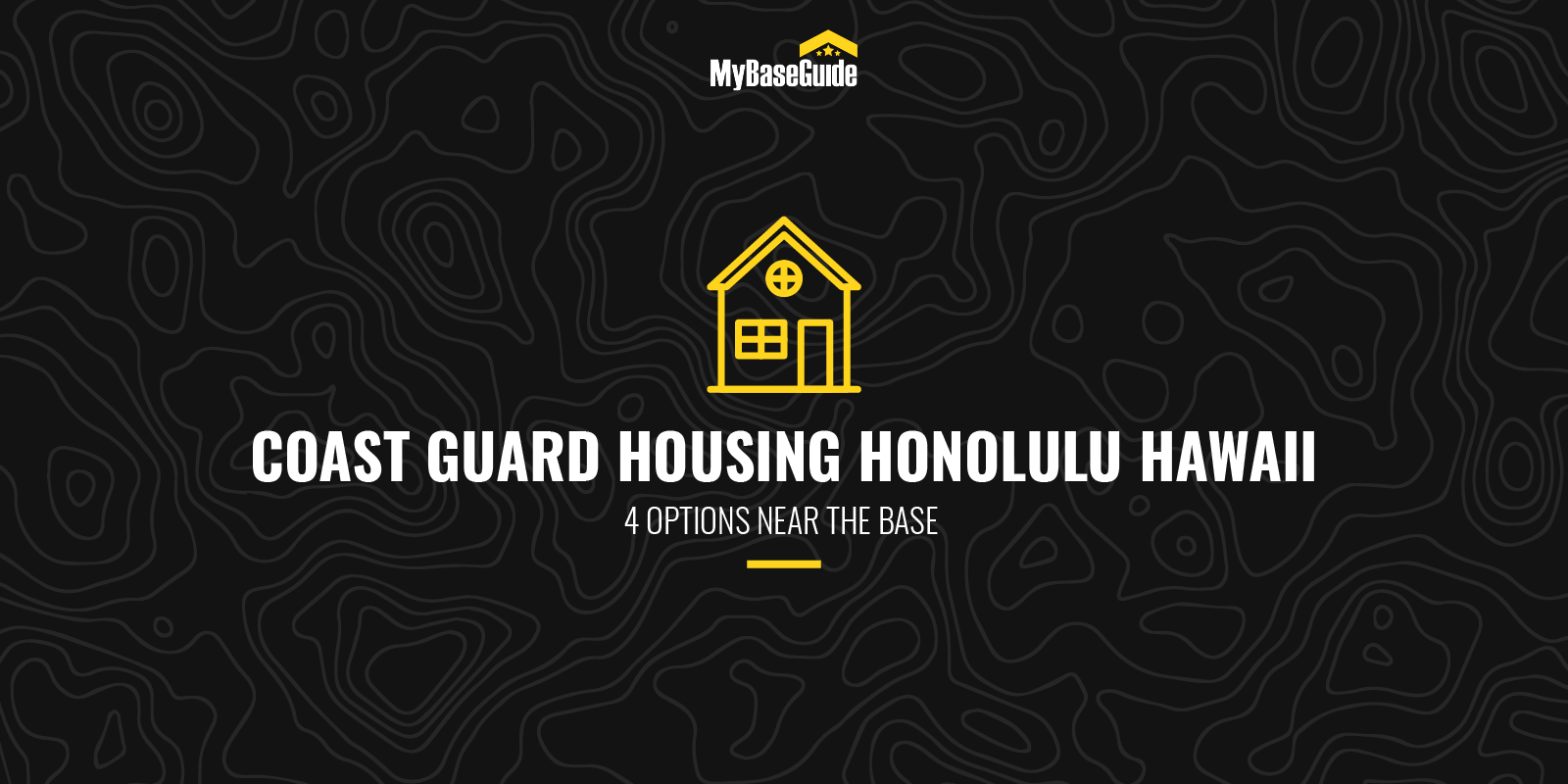 Coast Guard Housing Honolulu Hawaii: 4 Options Near the Base