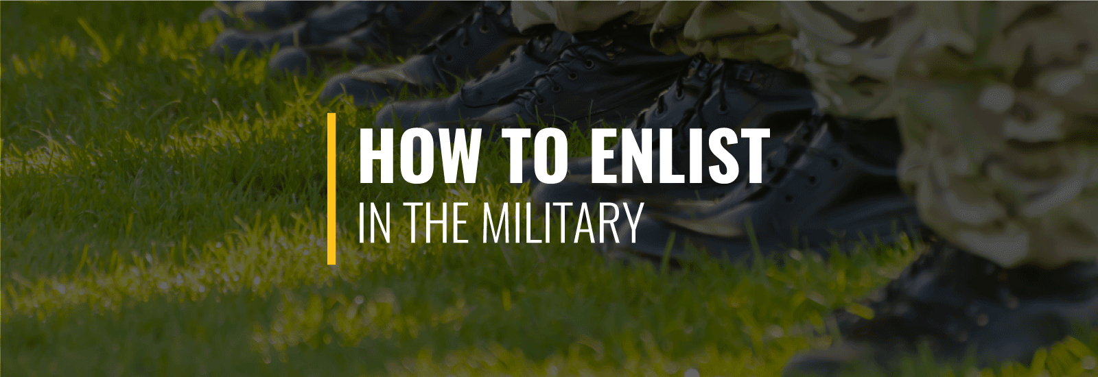 How to Enlist in the Military