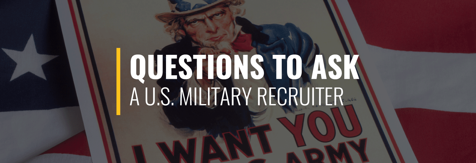 uestions to Ask a U.S. Military Recruiter