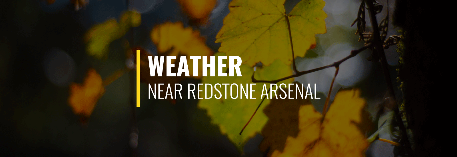 Redstone Arsenal Weather