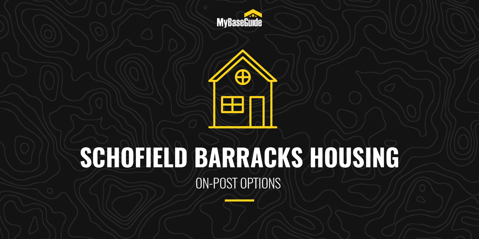 Schofield Barracks On-Post Housing Options
