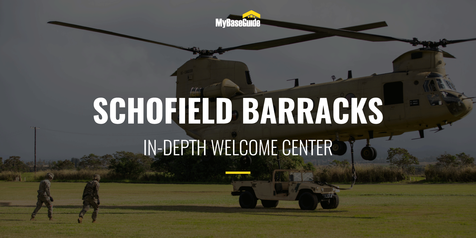 Schofield Barracks : In-Depth Welcome Center