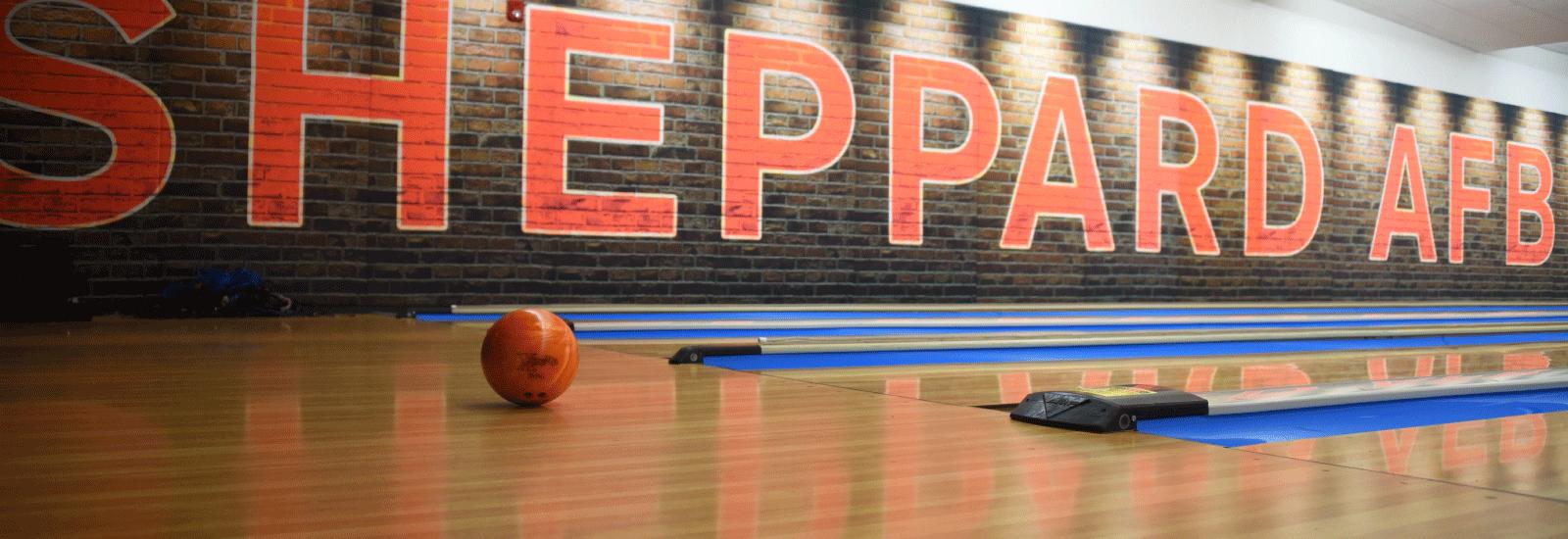 Sheppard AFB Bowling Alley