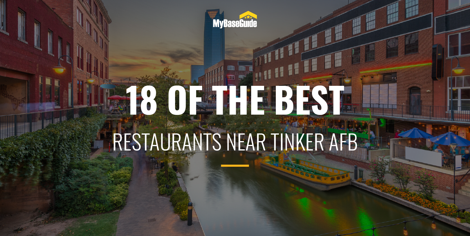 18 of the Best Restaurants Near Tinker AFB