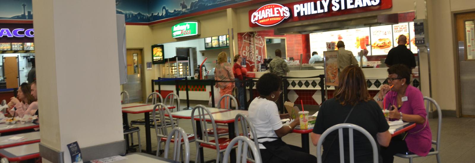 Barksdale AFB BX Food Court
