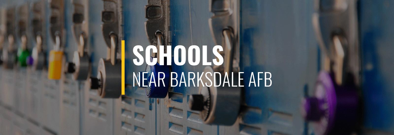 Barksdale AFB Schools