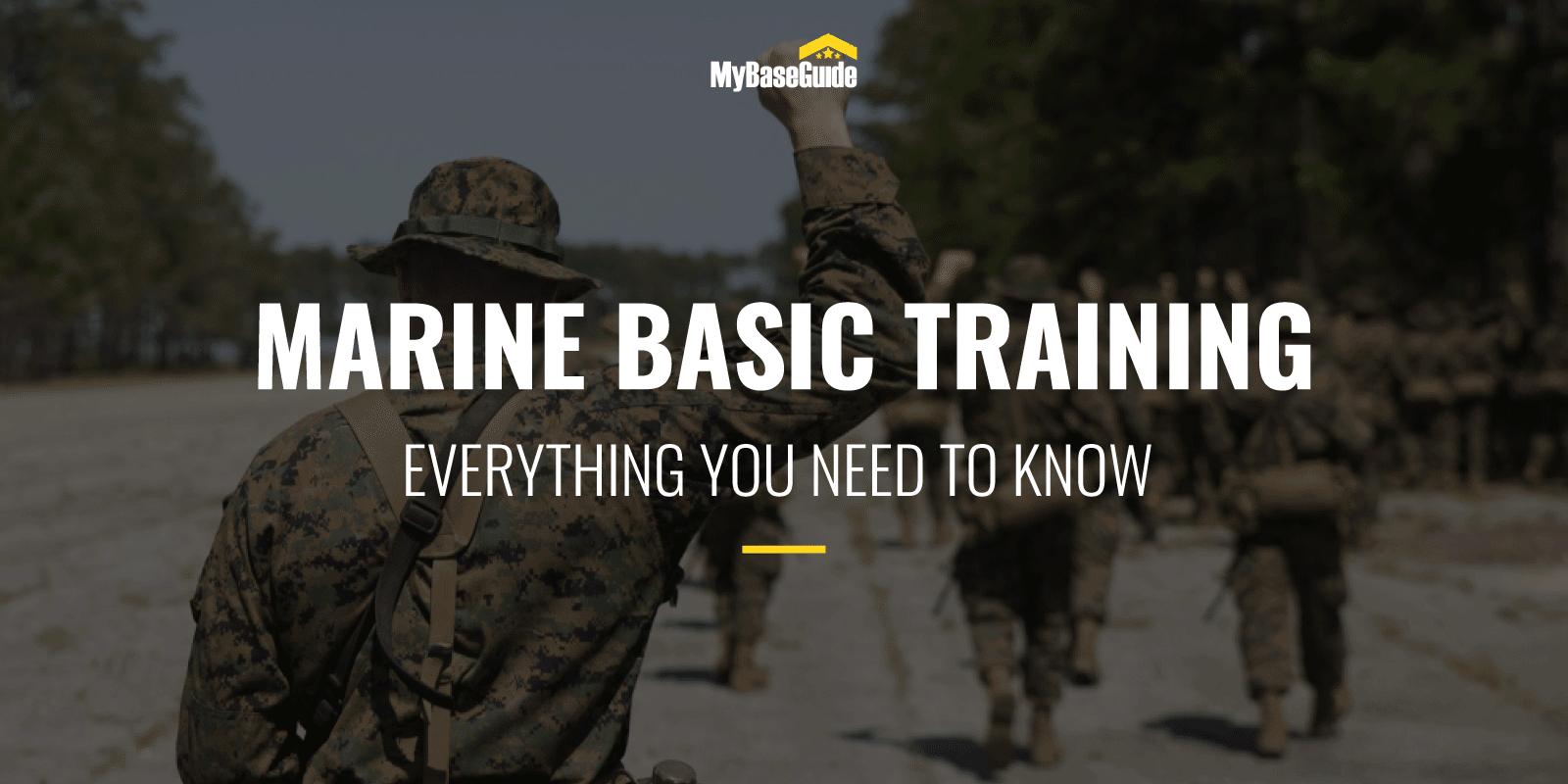 Marine Basic Training: Everything You Need to Know