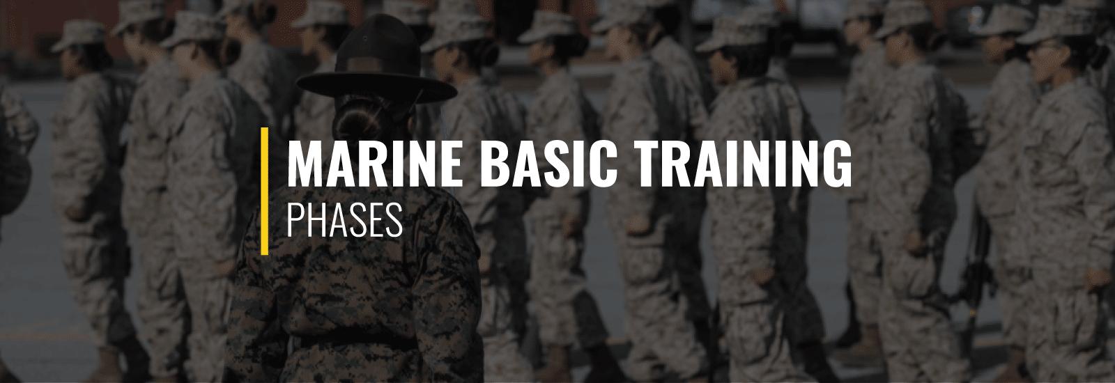 Marine Basic Training Phases