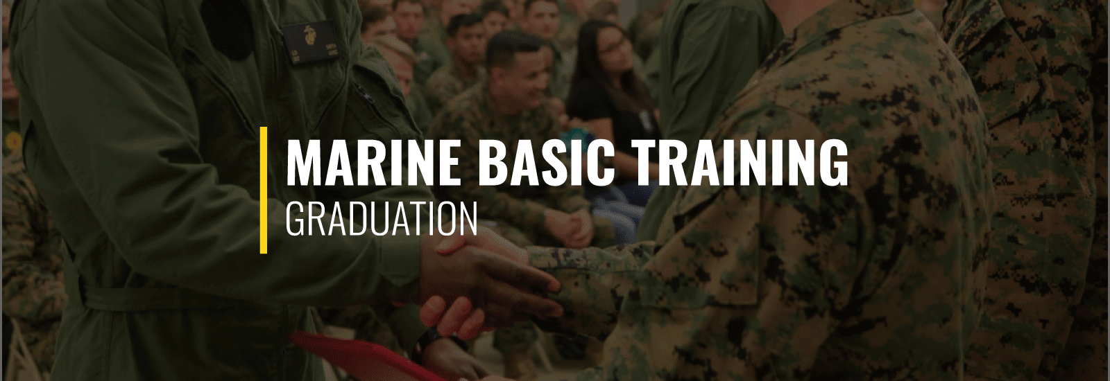 Marine Basic Training Graduation