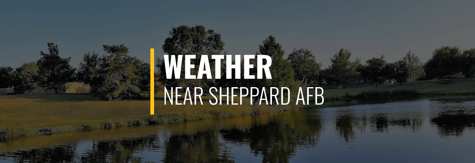Sheppard AFB Weather