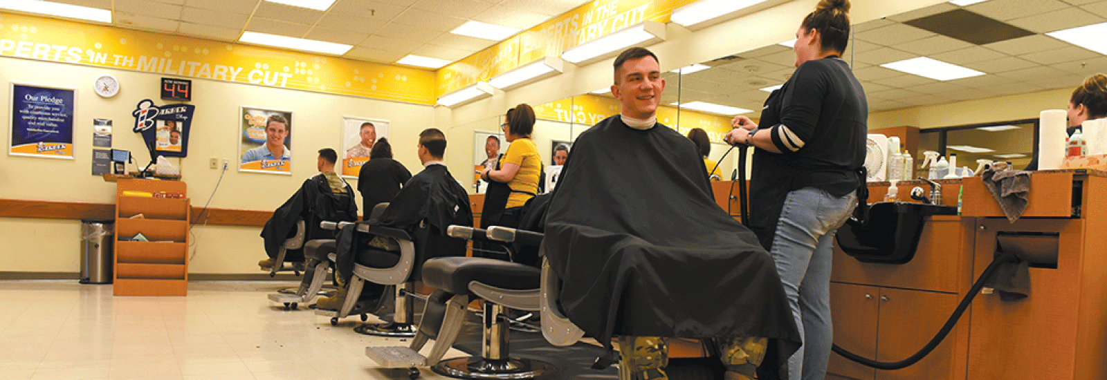 Whiteman AFB Barber Shops