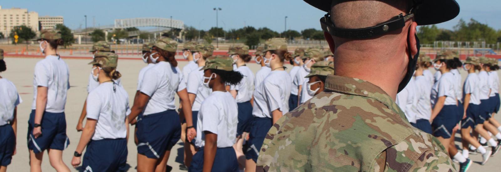 Air Force Basic Training Phases