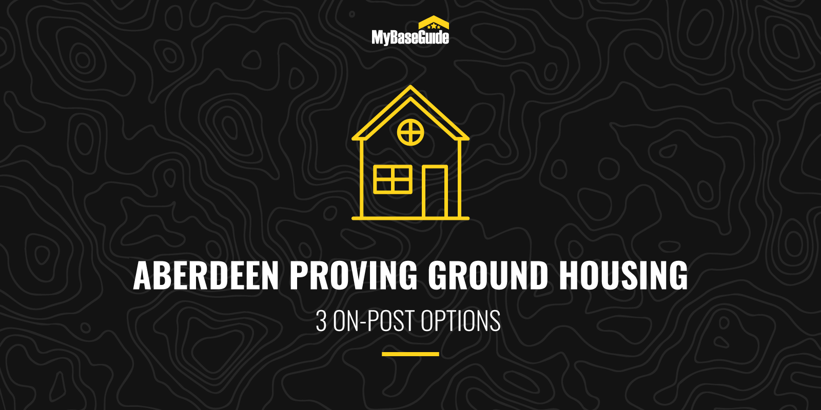 Aberdeen Proving Ground Housing: 3 On-Post Options