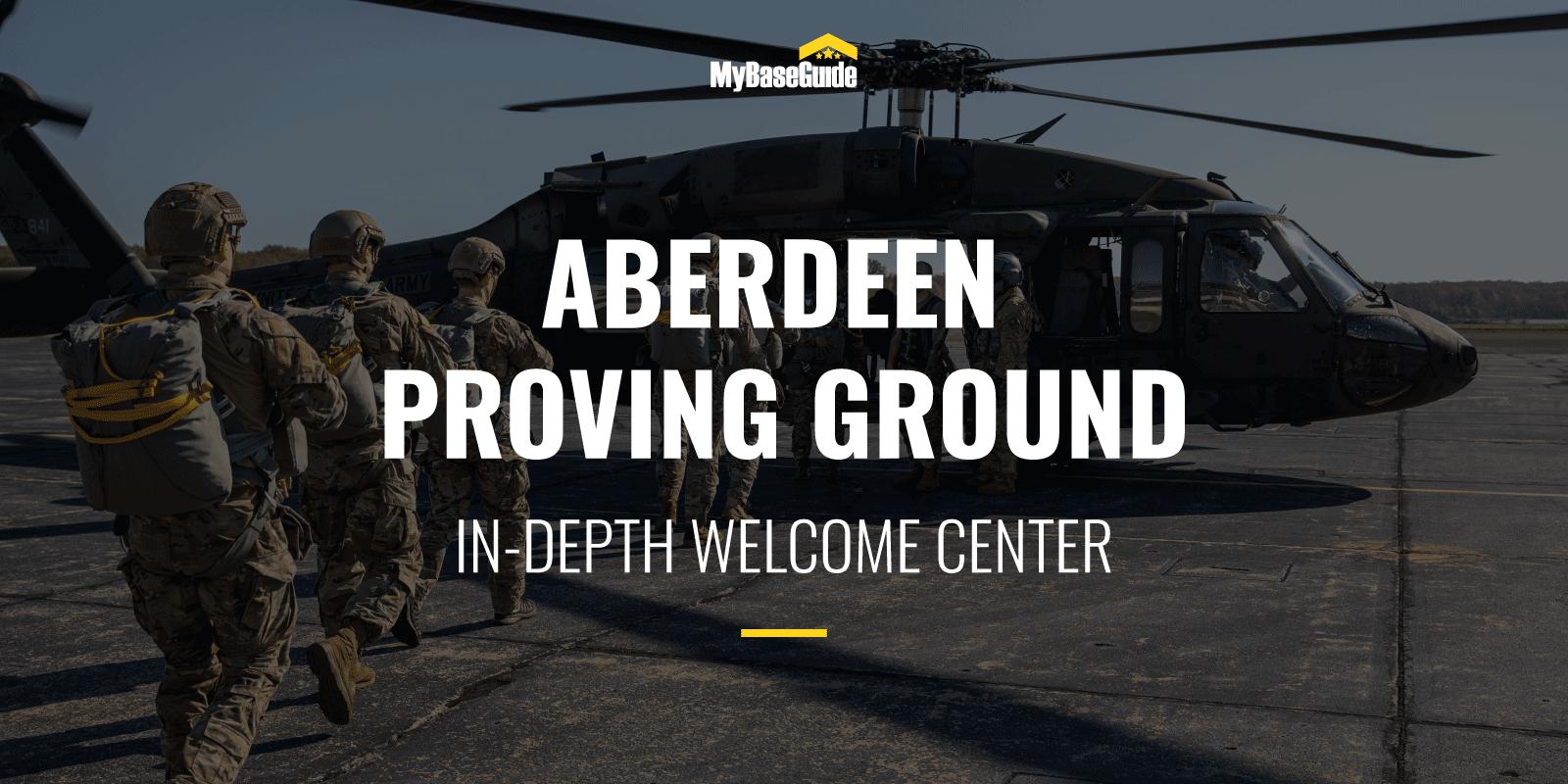 Aberdeen Proving Ground: In-Depth Welcome Center
