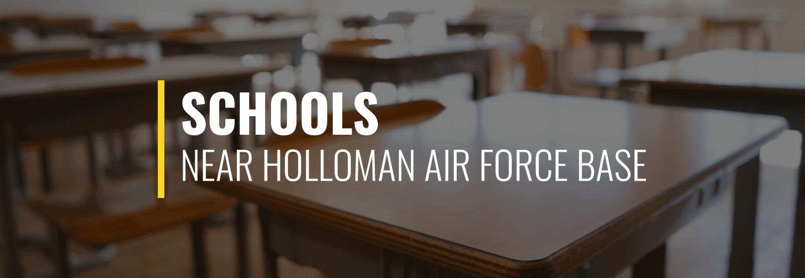 Holloman AFB Schools