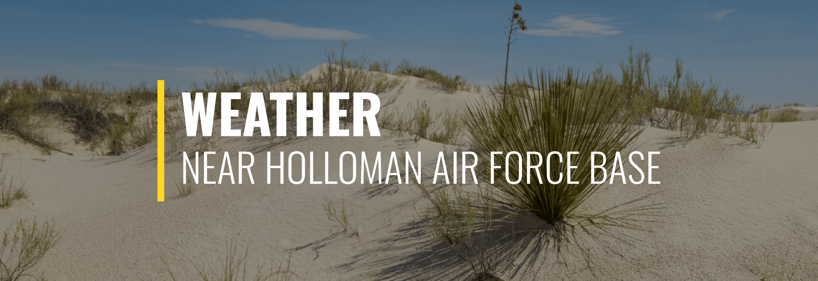 Holloman AFB Weather