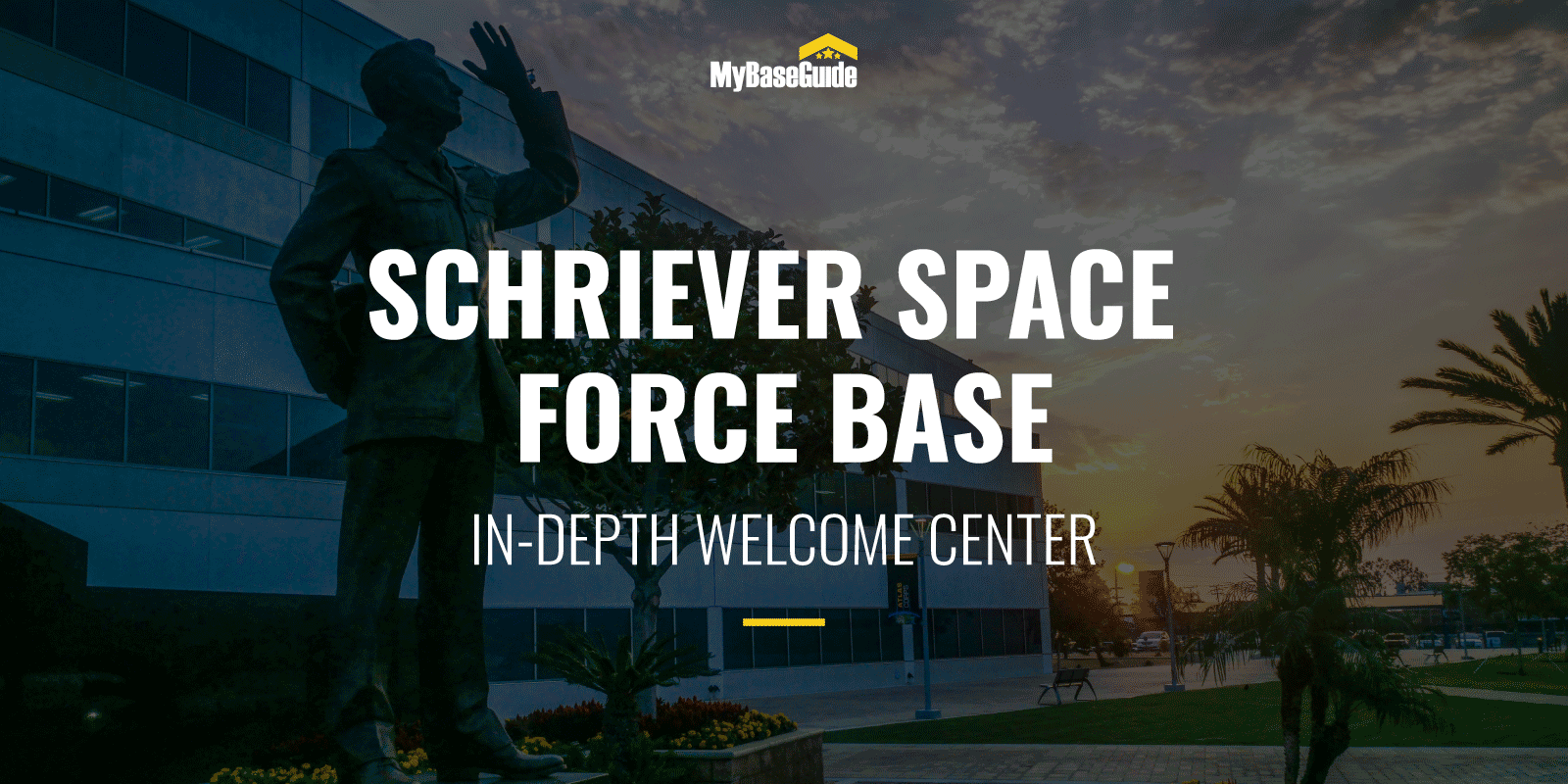 Schriever AFB Welcome Center (Now Schriever Space Force Base)