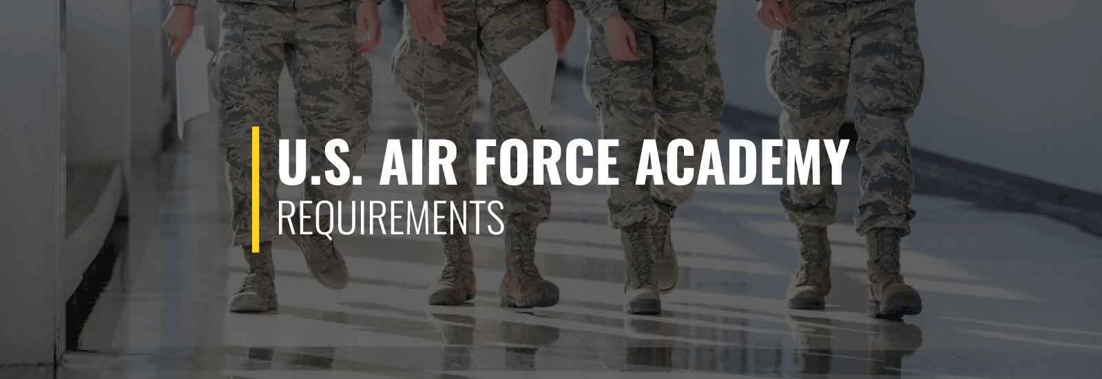 Air Force Academy Requirements