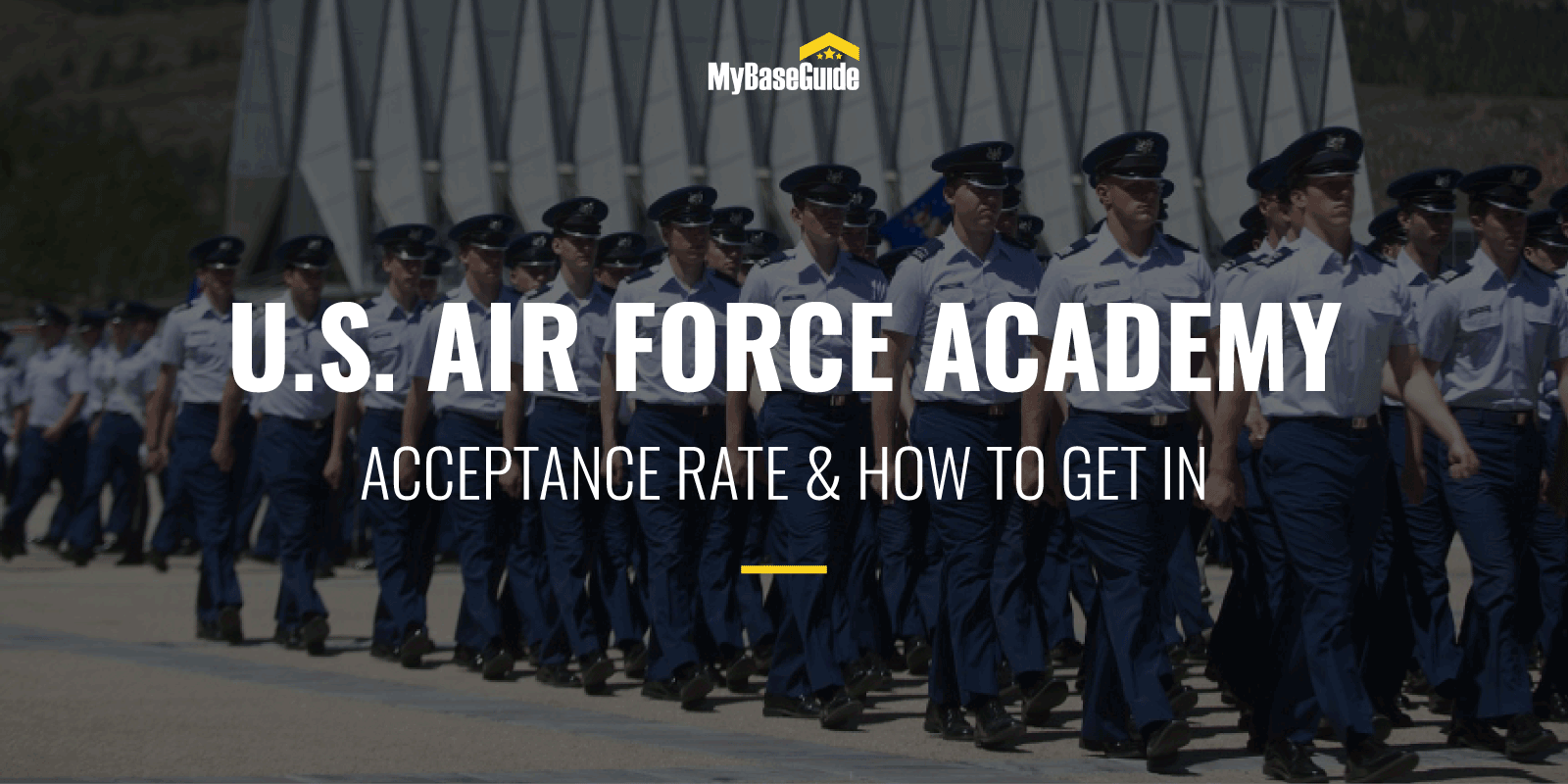 U.S. Air Force Academy Acceptance Rate & How to Get in
