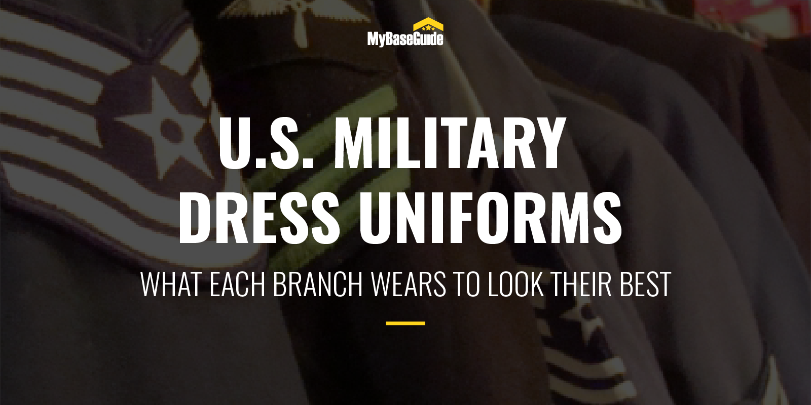 U.S. Military Dress Uniforms: What Each Branch Wears To Look Their Best