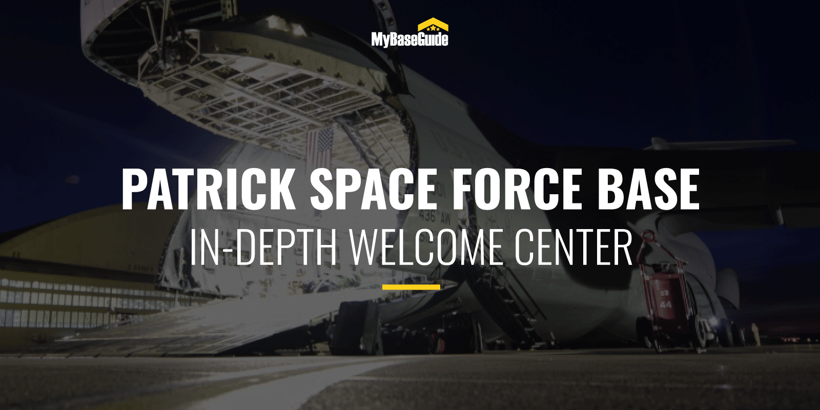 Patrick AFB Welcome Center (Now Patrick Space Force Base)