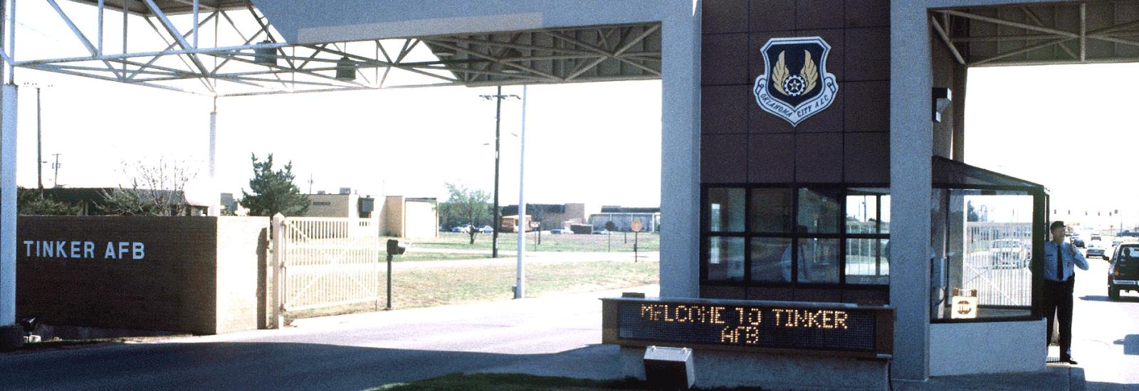 Tinker AFB Gate Hours