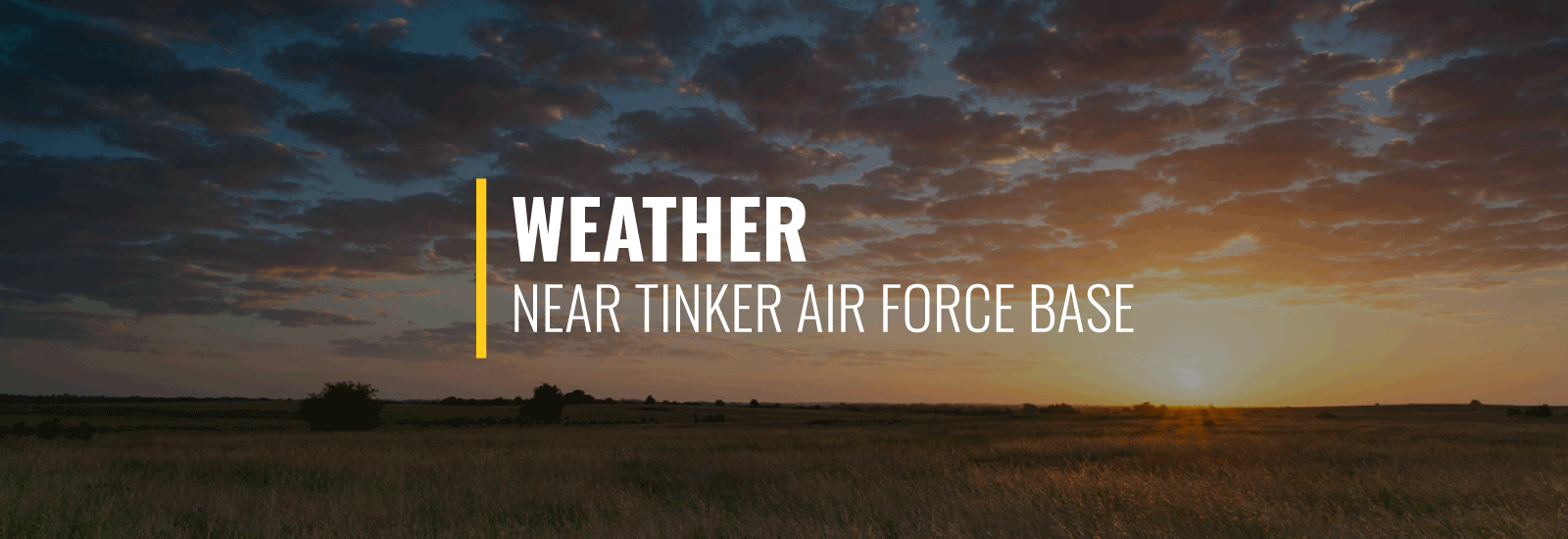 Tinker AFB Weather